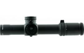 Trijicon 1900029 AccuPower 1-8x 28mm Obj 109.2-13.1 ft @ 100 yds FOV 34mm Tube Dia Black Mil-Dot Crosshair Green Dot
