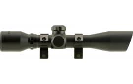 "TruGlo TG8504BD Compact 4x 32mm Obj 22.5 ft @ 100 yds FOV 1"" Tube Dia Black Matte Diamond"