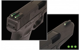 TruGlo TG131MPT Brite-Site TFO S&W M&P Tritium/Fiber Optic Green Black