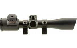 "TruGlo TG8504B3L Crossbow 4x 32mm Obj 22.5 ft @ 100 yds FOV 1"" Tube Dia Black Matte Illuminated Range Finding"