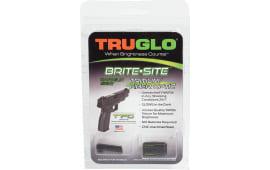 TruGlo TG131GT1B Brite-Site TFO Glock 42/43 Tritium/Fiber Optic Green Front Yellow Rear Black