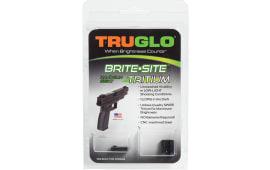 TruGlo TG231G1A Brite-Site Tritium Glock 42/43 Tritium Green Black