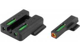 Truglo TG13MP1PC TFX PRO S&W M&P Green w/Orange Outline Front Green Rear Black