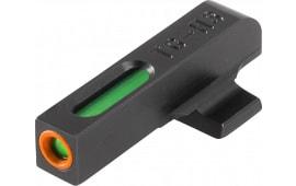 Truglo TG13BR1PC TFX PRO Beretta PX4 Fiber Optic Green Tritium w/Orange Outline Black