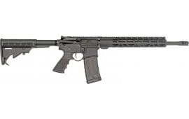 "Rock River Arms DS2552 LAR15 Exclusive Rifle 6 POS Stock 16"" Fluted Barrel Black"
