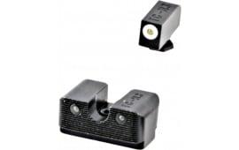 Truglo TG231G2W Tritium Pro Night Sights Glock Tritium w/White Outline Front Green Rear Black