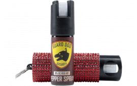 Gdog PSGDBOC181rd Bling IT ON Pepper Spray RED