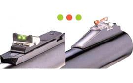 Truglo TG961M Slug Gun Series Mossberg Fiber Optic Red Front Green Rear Black