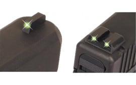 TruGlo TG231S1 Tritium Night Sights Sig Sauer Tritium Green Front & Rear Black