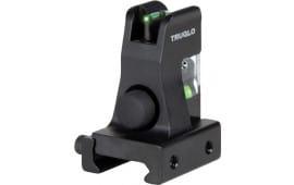 Truglo TG115 AR15 Green Fiber Optic Front AR-15 Black