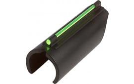 Truglo TG93B Glo-Dot II Universal 410GA Plain Barrel Fiber Optic Green Black