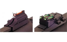 Truglo TG944D Gobble Dot Pro Magazine Benelli SBE/M1/Nova, Browning BPS Fiber Optic Green/Red Black