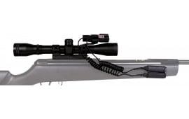 "Gamo 6212045154 Varmint Hunter 4x 32mm Obj 34 ft @ 100 yds FOV 1"" Tube Dia Black 30/30"