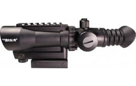 "BSA TW30rdL Tactical 1x 30mm Obj 2"" Eye Relief Black"