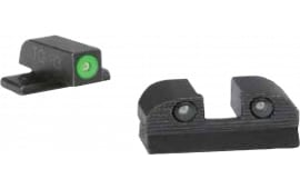 Sig Sauer Electro-Optics SOX10005 X-Ray3 #6 Green Front #6 Rear Square Notch Tritium Day / Night Sights