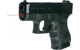 LaserMax LMS-1161 Guide Rod Red Laser for Glock 26/27/33 Black