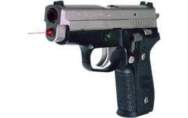 "LaserMax LMS-2291 Guide Rod Red Laser Sig P229 635nm .75""@25yd 20yds LR41 Btry"
