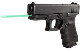 LaserMax LMS-1131G Guide Rod Green Laser For Glock 19/23/32/38 (Gen 1-3) Black