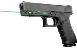 LaserMax LMS-1141G Guide Rod Green Laser For Glock 17/22/31/37 (Gen 1-3) Black