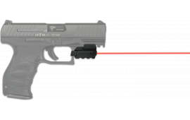 "LaserMax Sps-r Spartan Red Laser 650nm Minimum 1"" Picatinny/Weaver Rail Black"