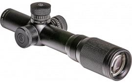Sightmark SM13050 Rapid 1-4x 20mm Obj 93-22.7 ft @ 100 yds FOV 30mm Tube Dia Black Matte Illuminated SHR