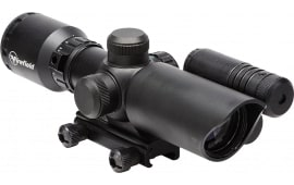 Firefield FF13017 1.5-5x32mm Obj 42-14.7 ft @ 100 yds FOV 30mm Tube Dia Black Dual Illuminated Duplex Red/Green