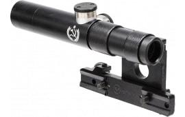 """Firefield FF13024 PU Scope 3.5x 18mm Obj 21.4 ft @ 100 yds FOV 1"""" Tube Dia Black Three Post"""