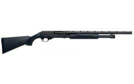 "H&R Pardner Pump 20GA Shotgun, 21"" Black Synthetic Stock Black Finish - 72282"