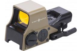 Sightmark SM26005DE Ultra Shot 1x Unlimited Eye Relief 2 MOA Flat Dark Earth/Matte Black