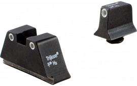 Trijicon GL201C600649 Bright & Tough NS For Glock w/Suppressor F/R Green Tritium