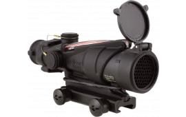 Trijicon 100228 Acog 4x 32mm Obj 36.8 ft @ 100 yds FOV Tube Dia Black Chevron