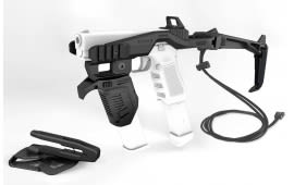 Recover Tactical - 20/20N Stabilizer Brace W/ Strap - Full Kit - Low/High Charging Handles - Black - 2020NMG-01