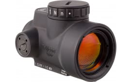 Trijicon 2200003 MRO 1x 25mm Obj Unlimited Eye Relief Illuminated Red Dot 2 MOA Black Hard Coat Anodized