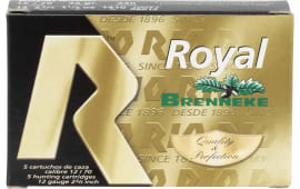 RIO Ammunition RBK12 Royal Brenneke Slug 12GA 2.75IN - 5sh Box