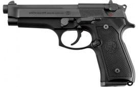 Beretta 10+1 Round Pistol w/Black Finish & Plastic G