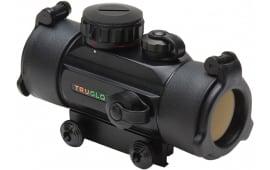 TruGlo TG8030B3 Crossbow Red Dot 1x 30mm Obj Unlimited Eye Relief 3-Dot Descending Diameter MOA Black