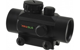 TruGlo TG8030P Traditional 1x 30mm Obj Unlimited Eye Relief 5 MOA Black