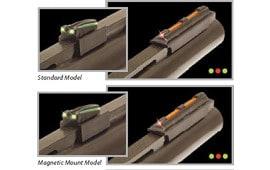 TruGlo TG941XC Gobble-Dot Magnum Xtreme Shotgun Fiber Optic Red Front Green Rear Black
