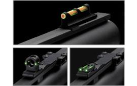 TruGlo TG950XD Tru-Bead Turkey Universal Dual-Color Shotgun Fiber Optic Green/Red front Green Rear Black