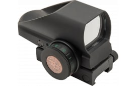 Truglo TG8385BN Tru-Brite 1x 34mm Obj Unlimited Eye Relief 5 MOA Black