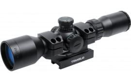"Truglo TG8539TL Tactical 3-9x 42mm Obj 10-4 ft @ 100 yds FOV 1"" Tube Dia Black Matte Mil-Dot"