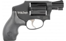 "Smith & Wesson 13305 442 .38 SPL+P 1.875"" FS WE THE People LIM ED 5-SH Black"