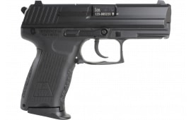 """HK M709202A5 P2000 V2 LEM Double 3.6"""" 13+1 Black Interchangeable Backstrap Grip Black"""