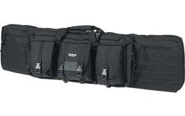 "Rukx Gear Tactical Double Gun Black 600D Polyester 37"""