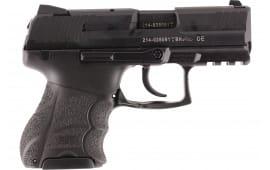 "HK 730901KA5 P30SK V1 Lite LEM Double 3.27"" 10+1 Black Interchangeable Backstrap Grip Black"