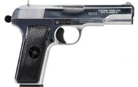 Zastava H5762C M57A 7.62X25 4.5 Polished Chrome 9rd