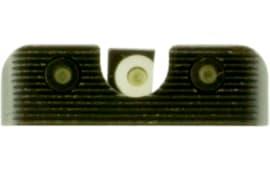 Truglo TG231X1W Tritium Pro Night Sights Springfield Xd/xd-s/xd(m) Steel Green Tritium w/White Outline Steel Green Tritium Black