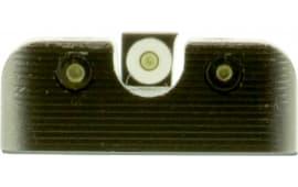 Truglo TG231H1W Tritium Pro Night Sights HK P30 Steel Green Tritium w/White Outline Steel Green Tritium Black