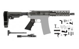 "AR-15 Complete Pistol Kit Minus Lower - CBC Industries 7.5"" Barrel 7.62x39"