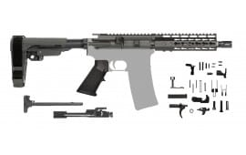 AR-15 Pistol Kit 5.56 - 7.5 Barrel, Keymod Rail and SBA3 Pistol Brace